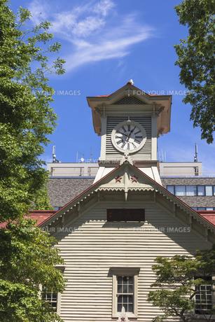 札幌時計台 Fyi01091785 気軽に使える写真イラスト素材
