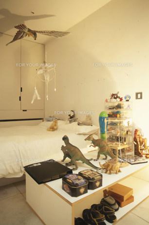 恐竜のおもちゃがある子供部屋 FYI01122850