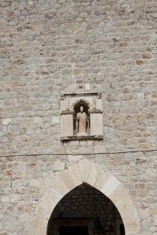 守護聖人の聖ヴラホ像 FYI01132308