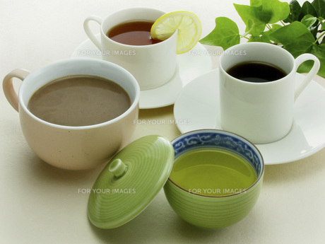 緑茶とココアと珈琲と紅茶 FYI01150212
