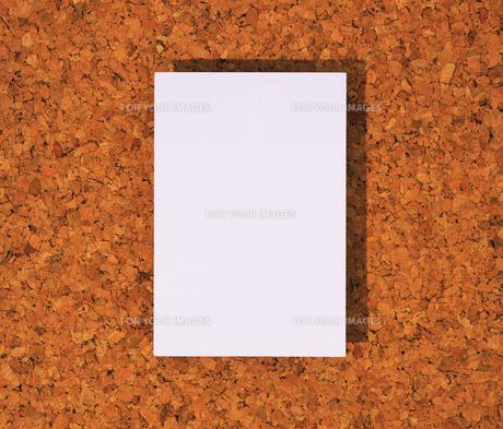 コルクボードとメモ用紙 FYI01153782