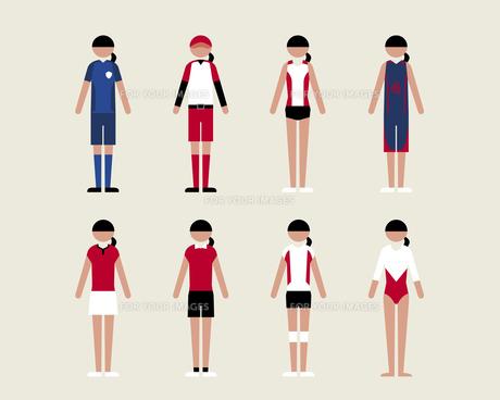 女性(スポーツ) FYI01157023