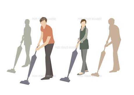 掃除機をかける FYI01157827