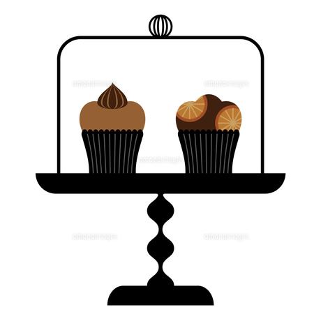 ケーキドームとカップケーキ FYI01159008