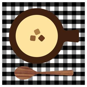 コーンスープと木のスプーン FYI01159011