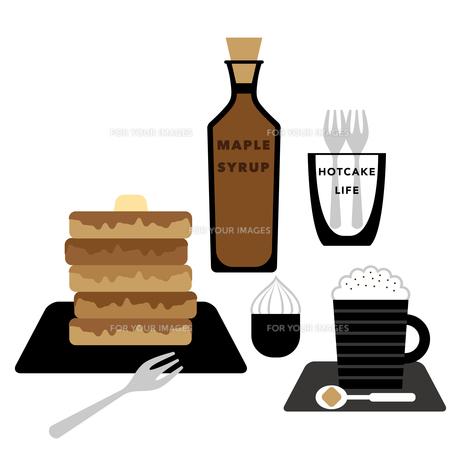 ホットケーキとカプチーノ FYI01162241