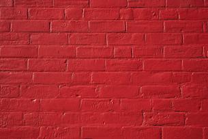 ブロック 赤 壁 ペイント 背景素材 FYI01167115