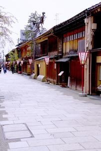 金沢三大茶屋街の写真イラスト画像素材 Foryourimages