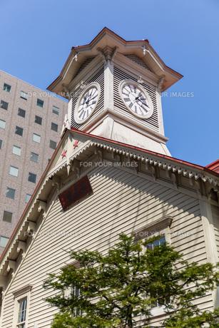 札幌時計台 Fyi01174822 気軽に使える写真イラスト素材