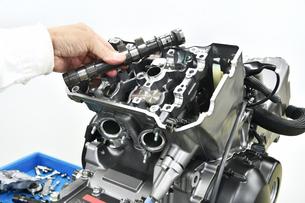 バイクエンジンの整備 FYI01196338