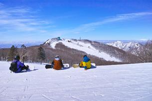 スキー場の写真イラスト素材 Foryourimages