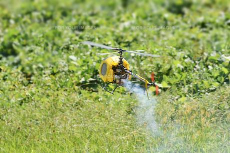 ラジコンヘリコプターのテスト飛行 FYI01203955