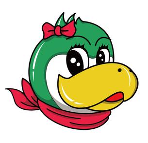 ペンギン キャラクターイラスト メス FYI01217935