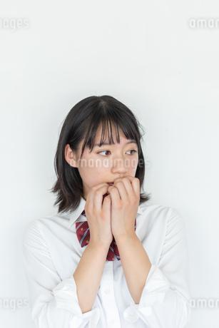 女子高校生のポートレートの写真素材 [FYI01220742]